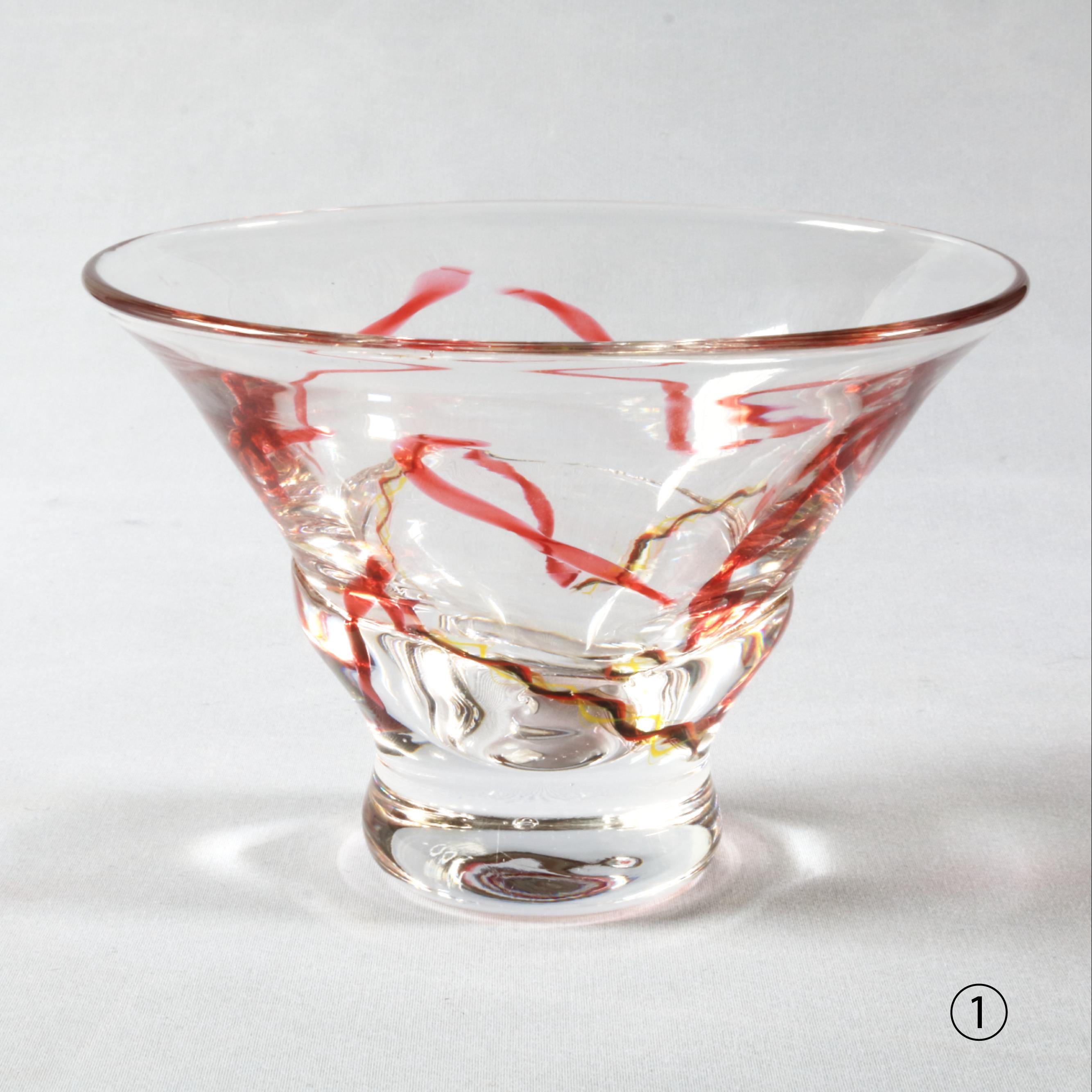 ぐるぐるかき氷・パフェグラス