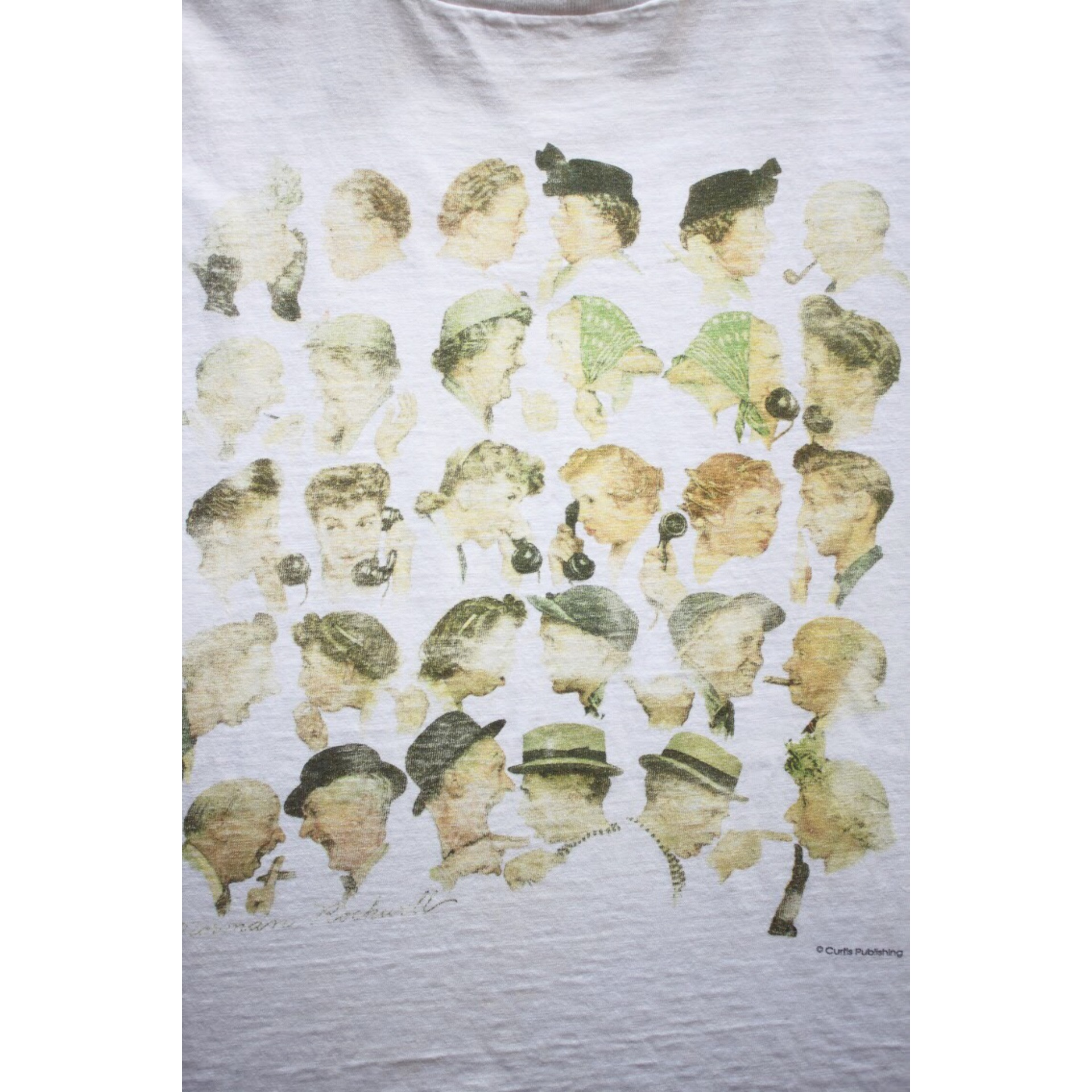 90s Norman Rockwell t shirt