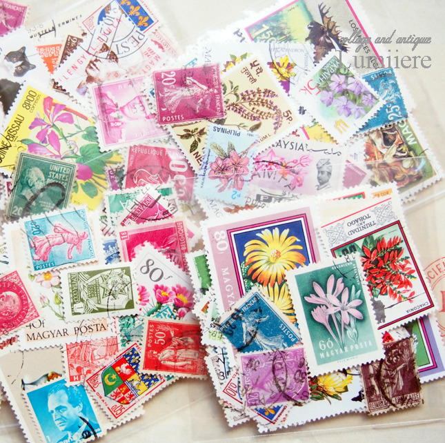 collage stamp set