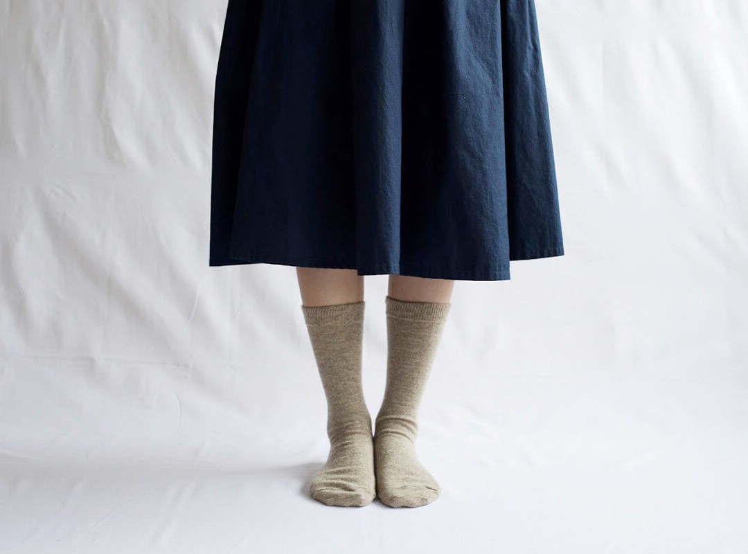 NISHIGUCHI KUTSUSHITA 西口靴下 カシミヤウールソックス / CASHMERE WOOL SOCKS
