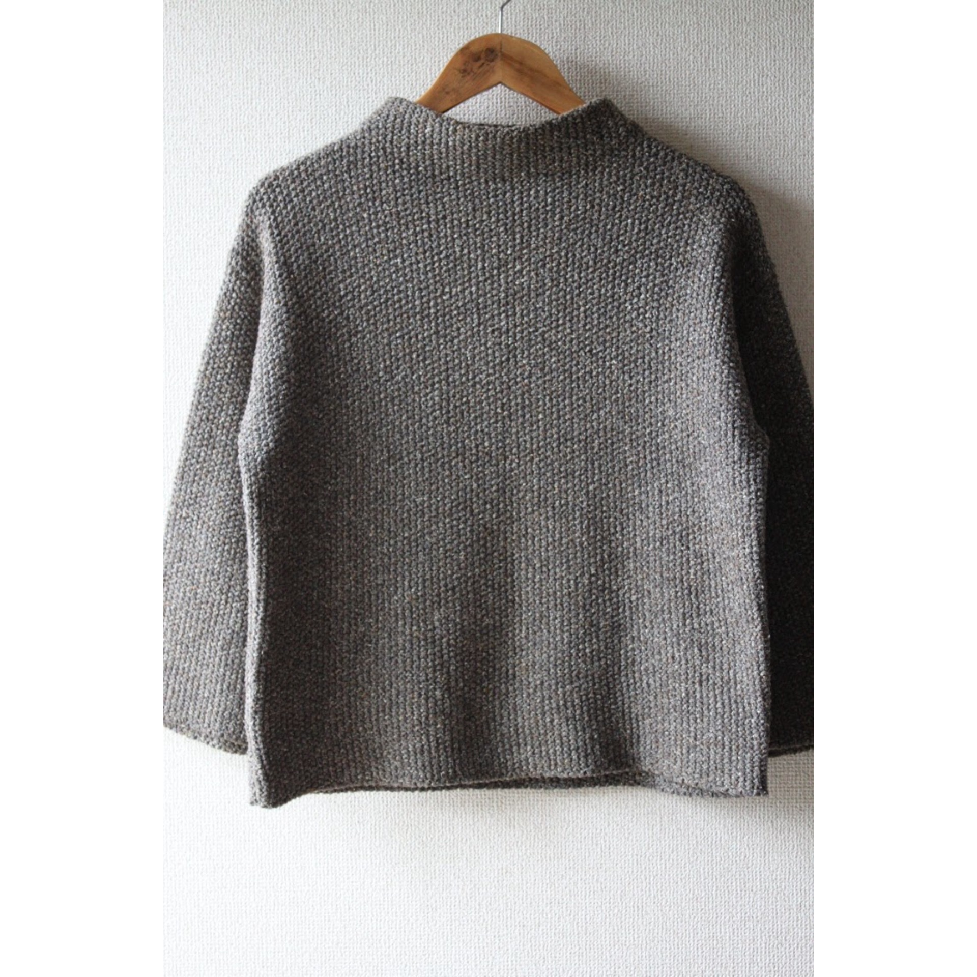 Vintage hi neck knit