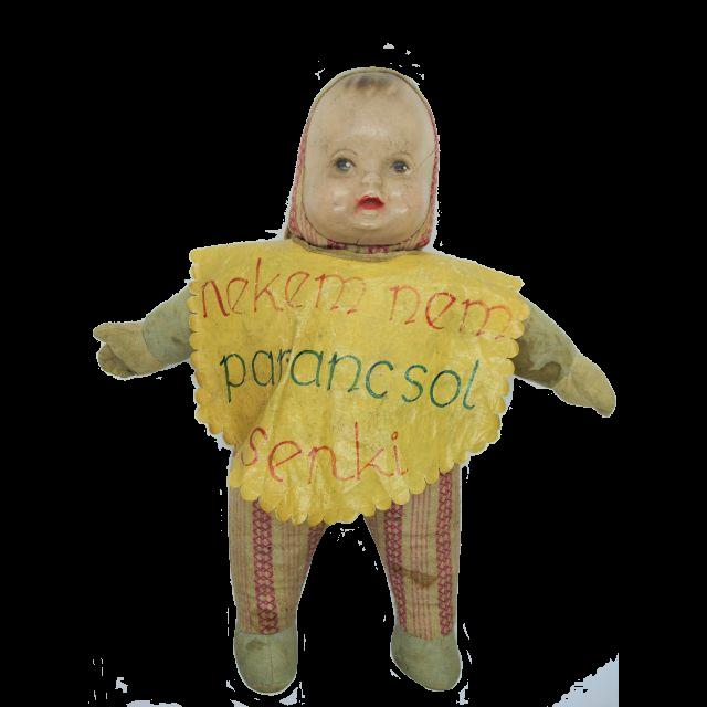 赤ちゃんの人形 パピエマシェ