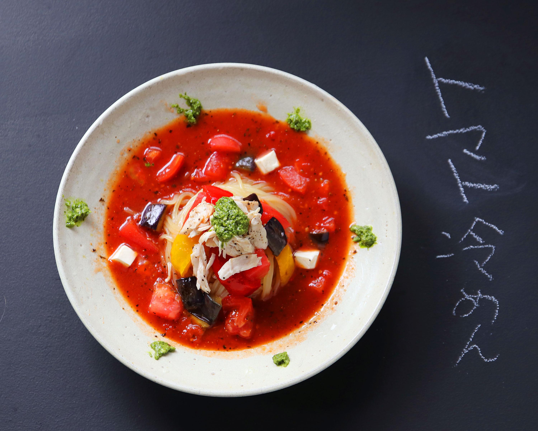 トマト冷麺 1人前