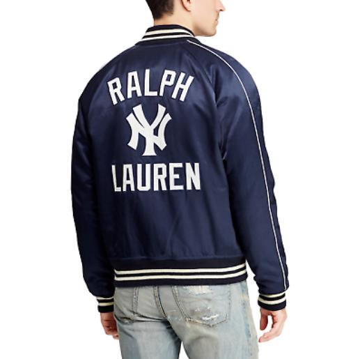 50周年記念★Polo Ralph Lauren Men's New York Yankees Navy Limited Edition Baseball Jacket