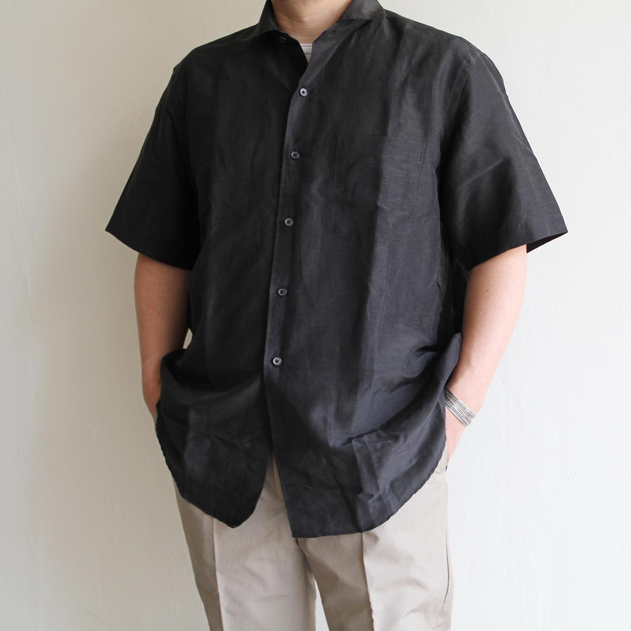 KAPTAIN SUNSHINE【 mens 】silk linen shirts