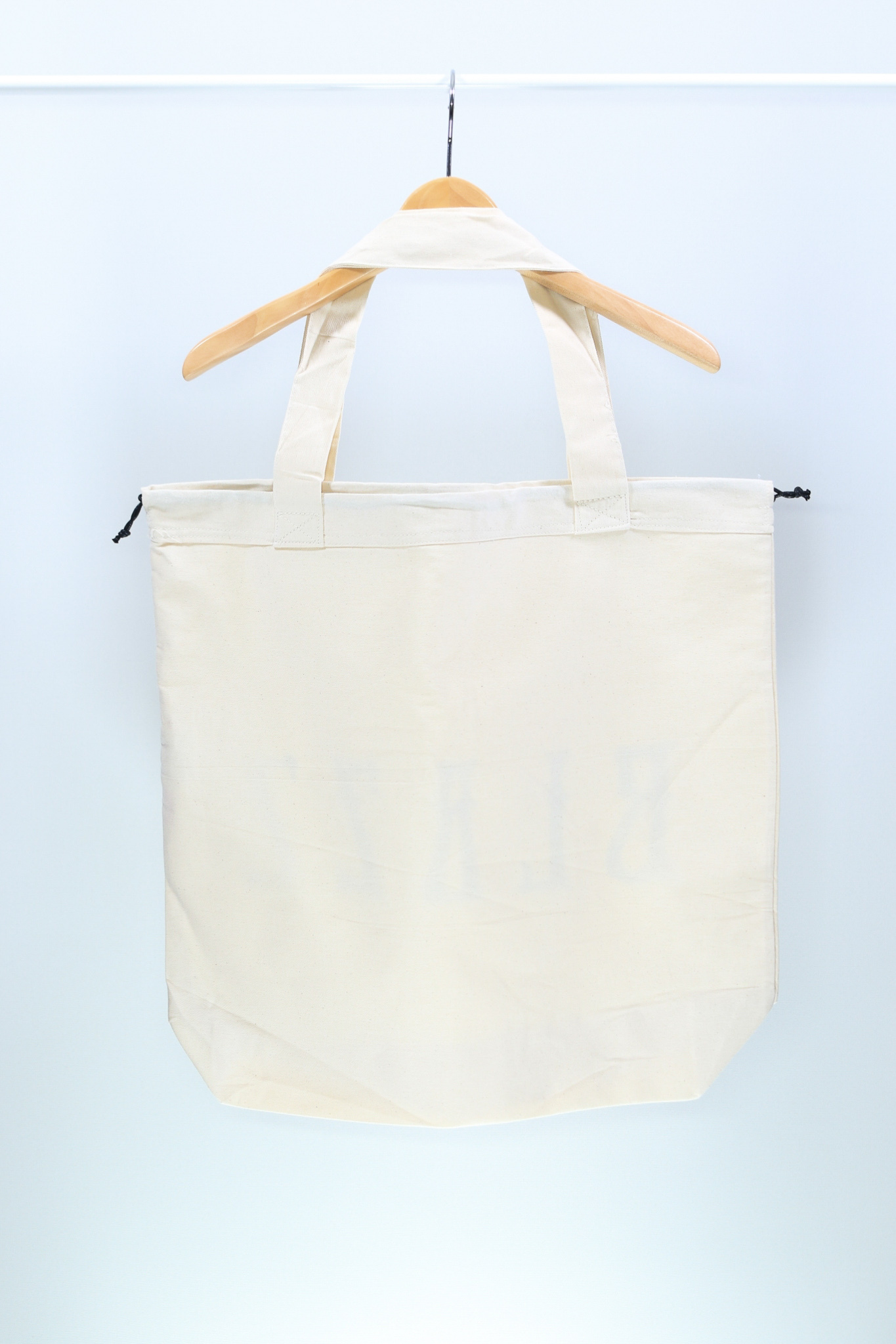 Euro Blazz Drawstring BIG TOTE BAG [Natural]