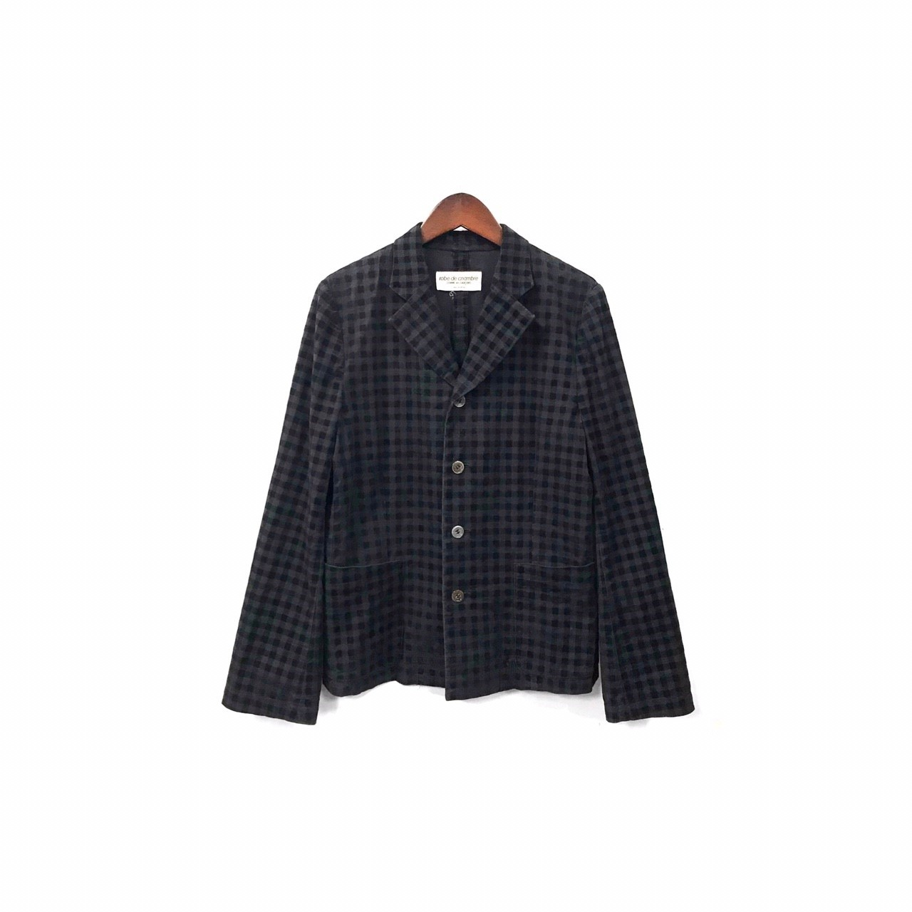 robe de chambre COMME des GARCONS - Check Jacket ¥8500+tax