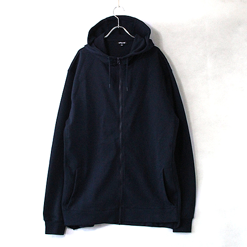 9.1oz Performance Fleece FULL-ZIP Hoodie - Navy -