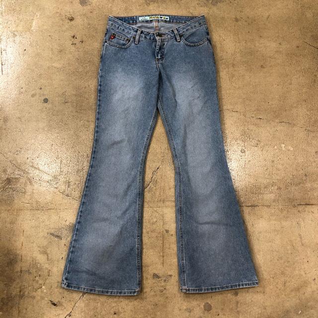 Mudd Flare Denim Pants ¥5,800+tax