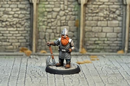 ドワーフの傭兵/戦士 - 画像2