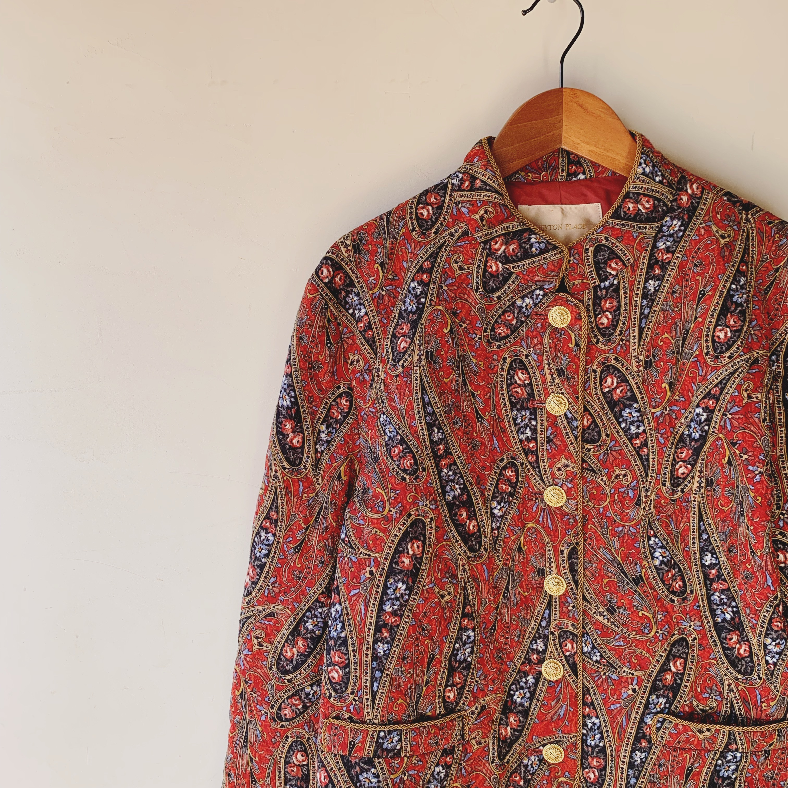 vintage paisley quilting outer