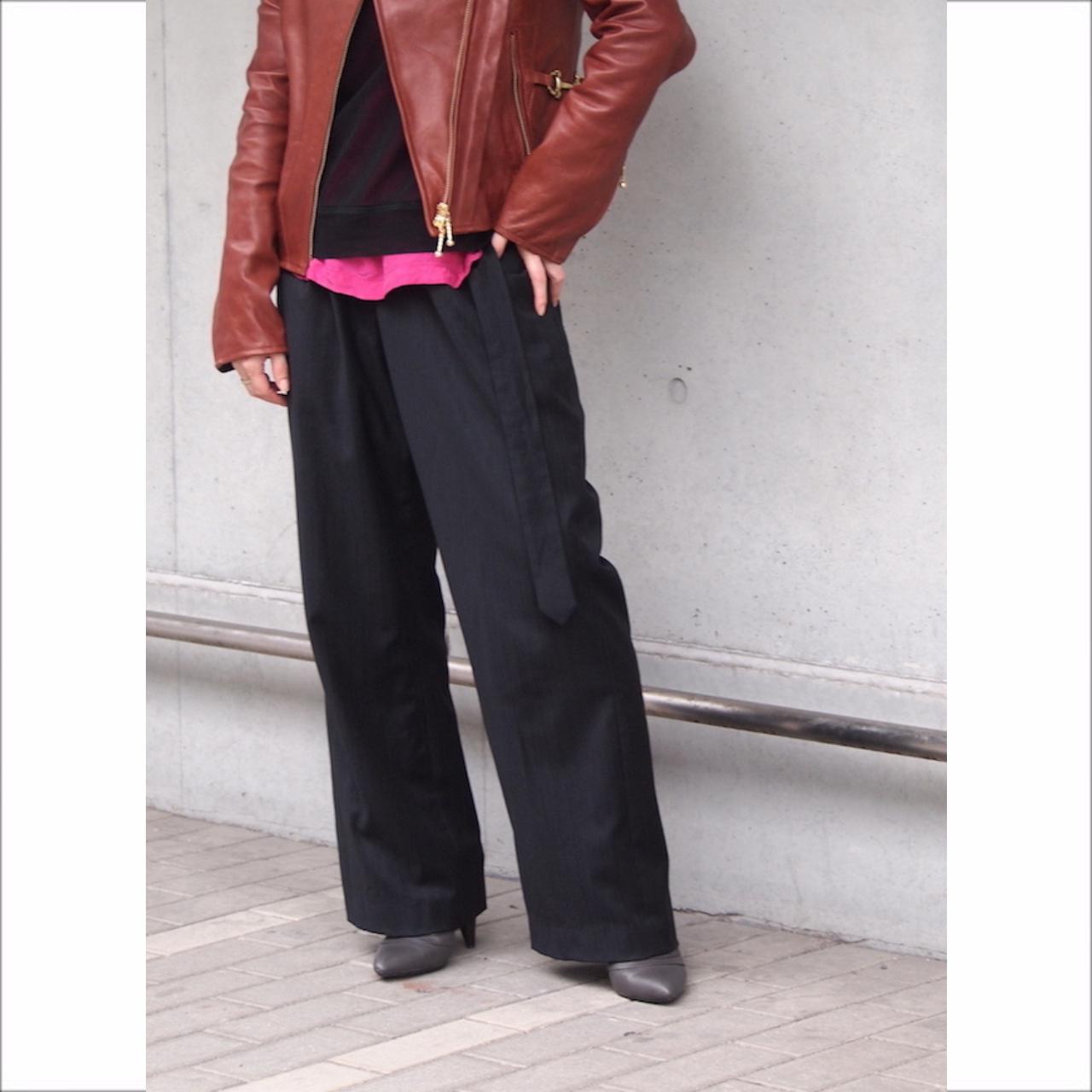 【hippiness】gurkha suit pants/【ヒッピネス】グルカ スーツ パンツ