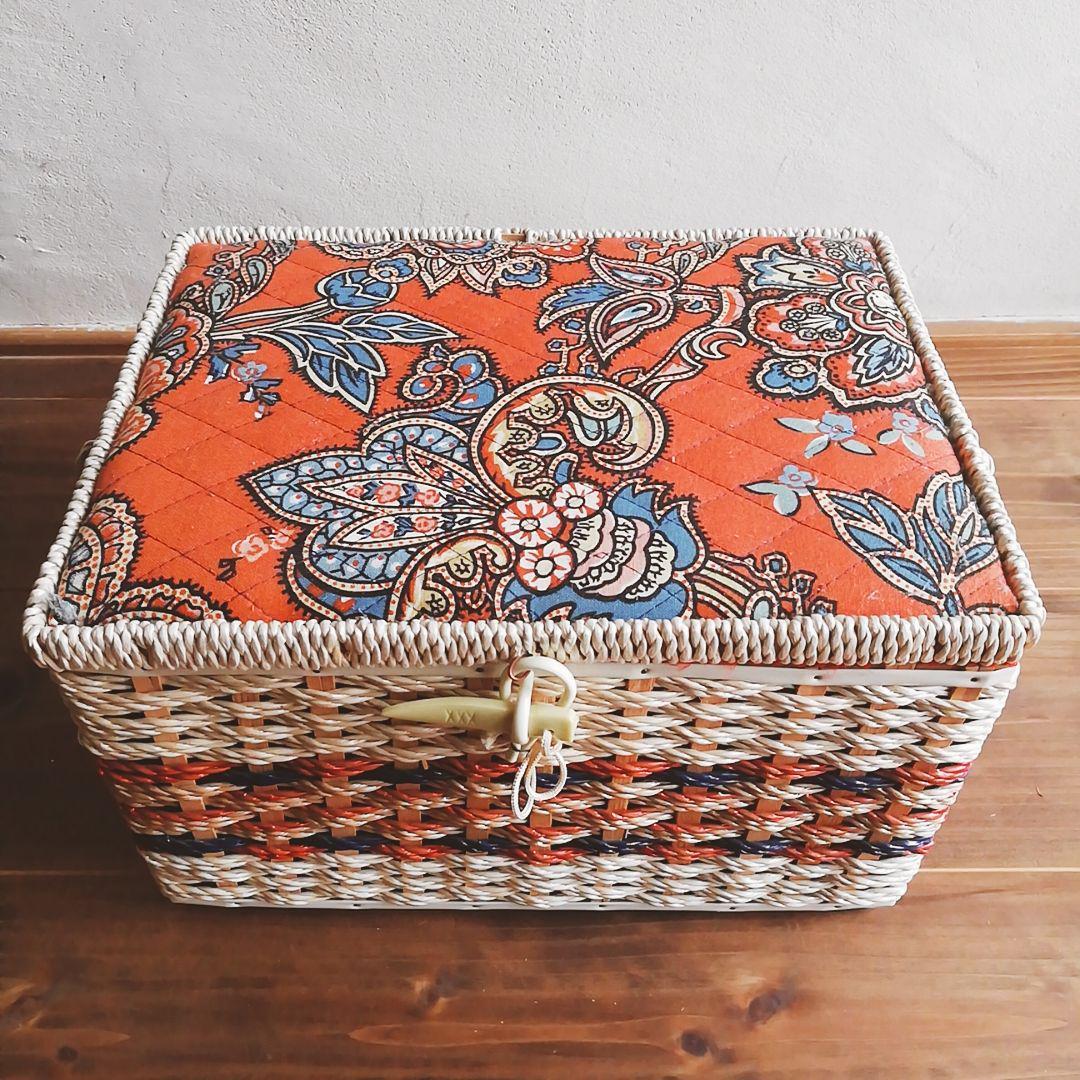 昭和レトロ 裁縫箱