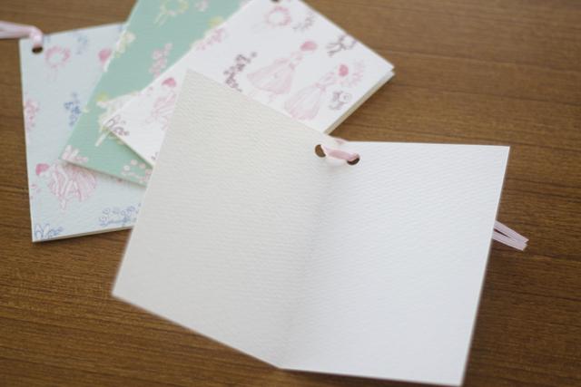 オリジナルバレエ柄ギフトカード