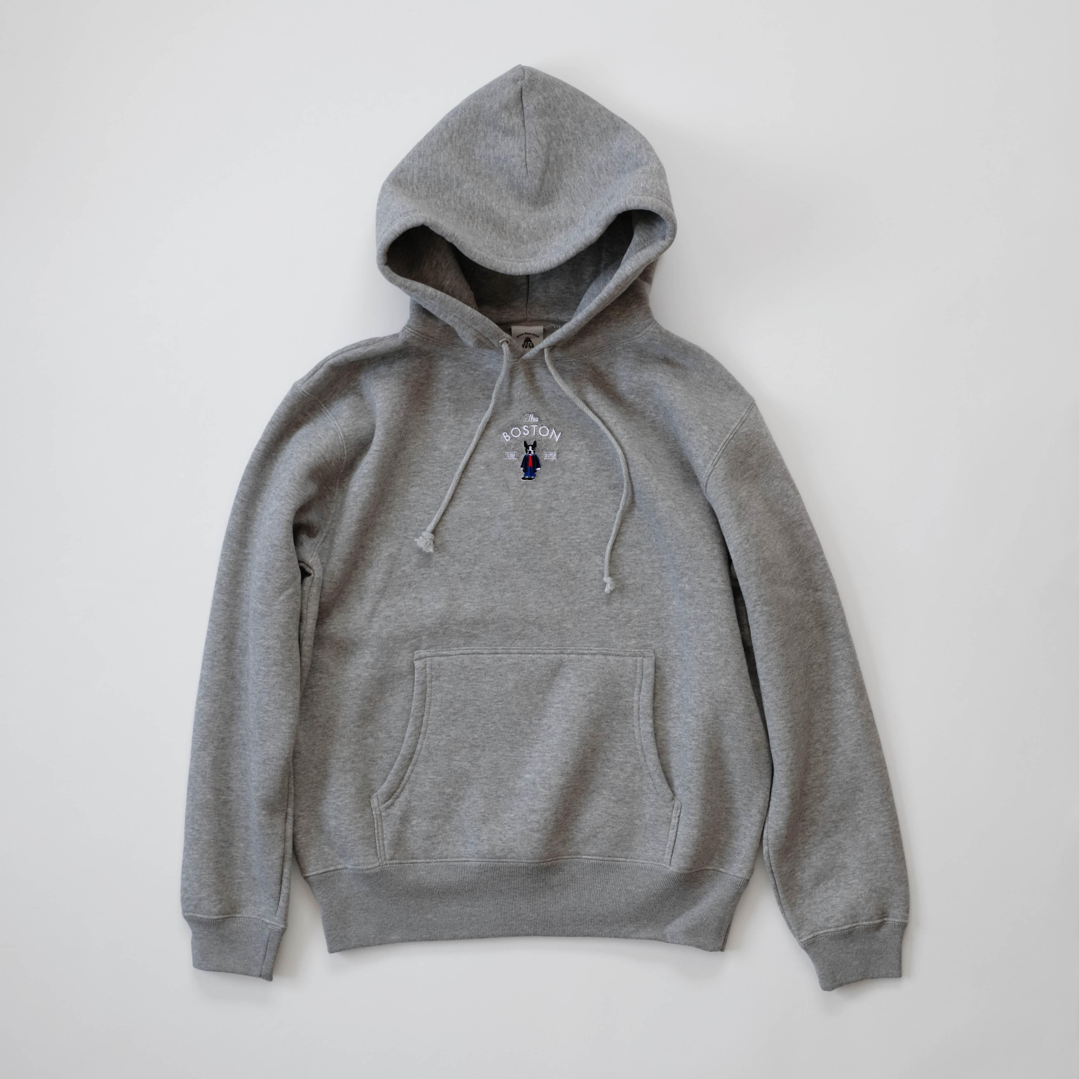 Boston Hooded Sweat[Gray]