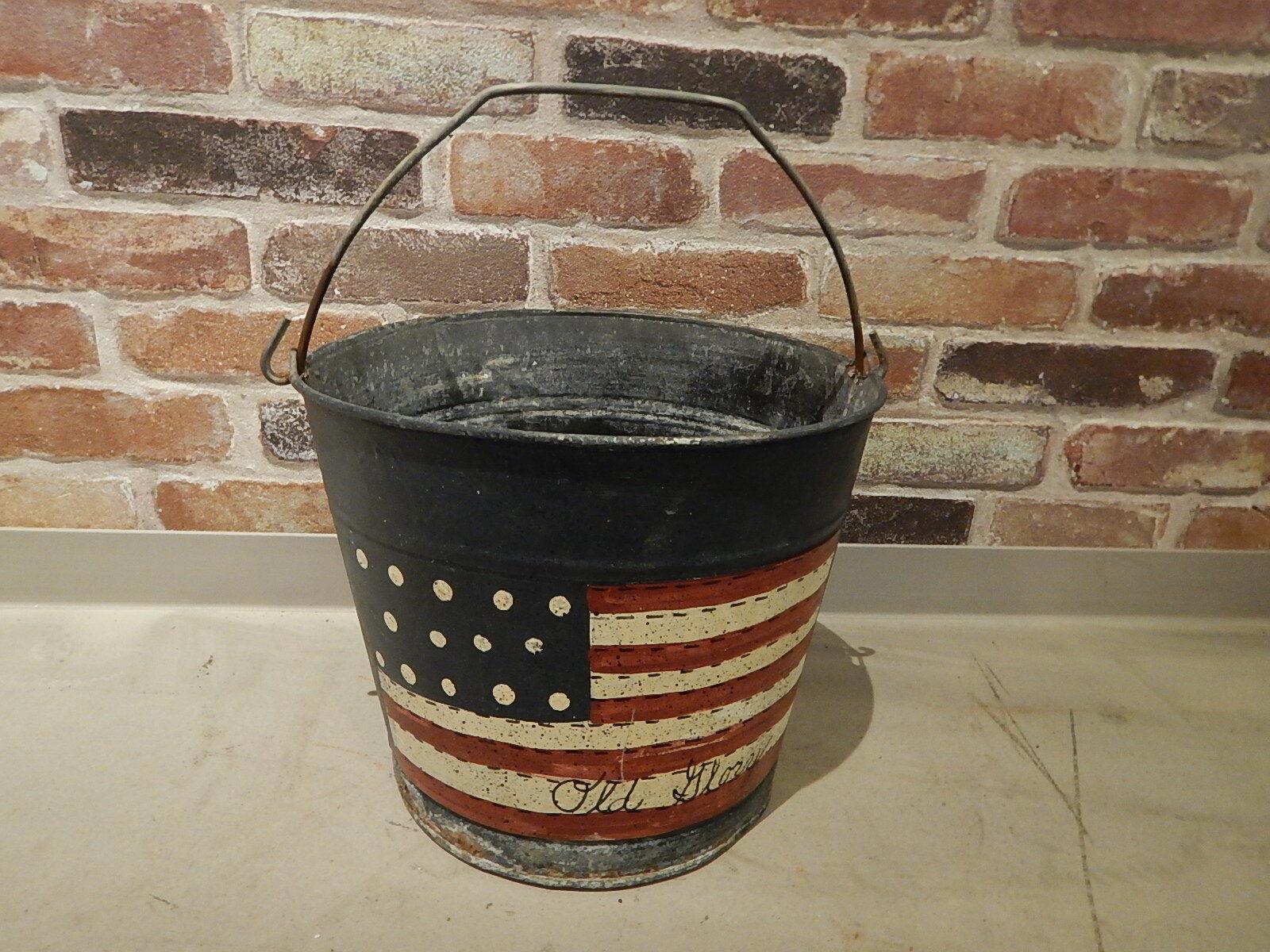 品番1676 USA バケツ スチール製 アメリカン雑貨 ヴィンテージ 011