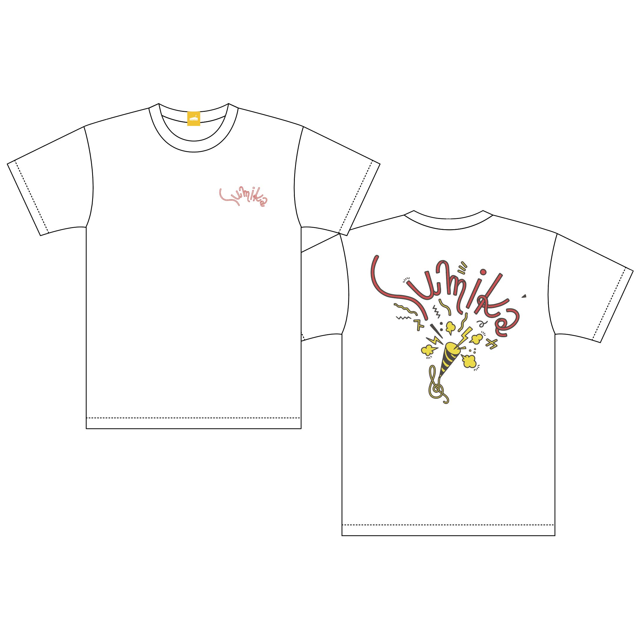 sumika / バックプリントTシャツ(ホワイト)