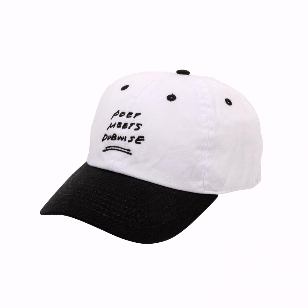 POET MEETS DUBWISE / BASEBALL CAP(2TONE)