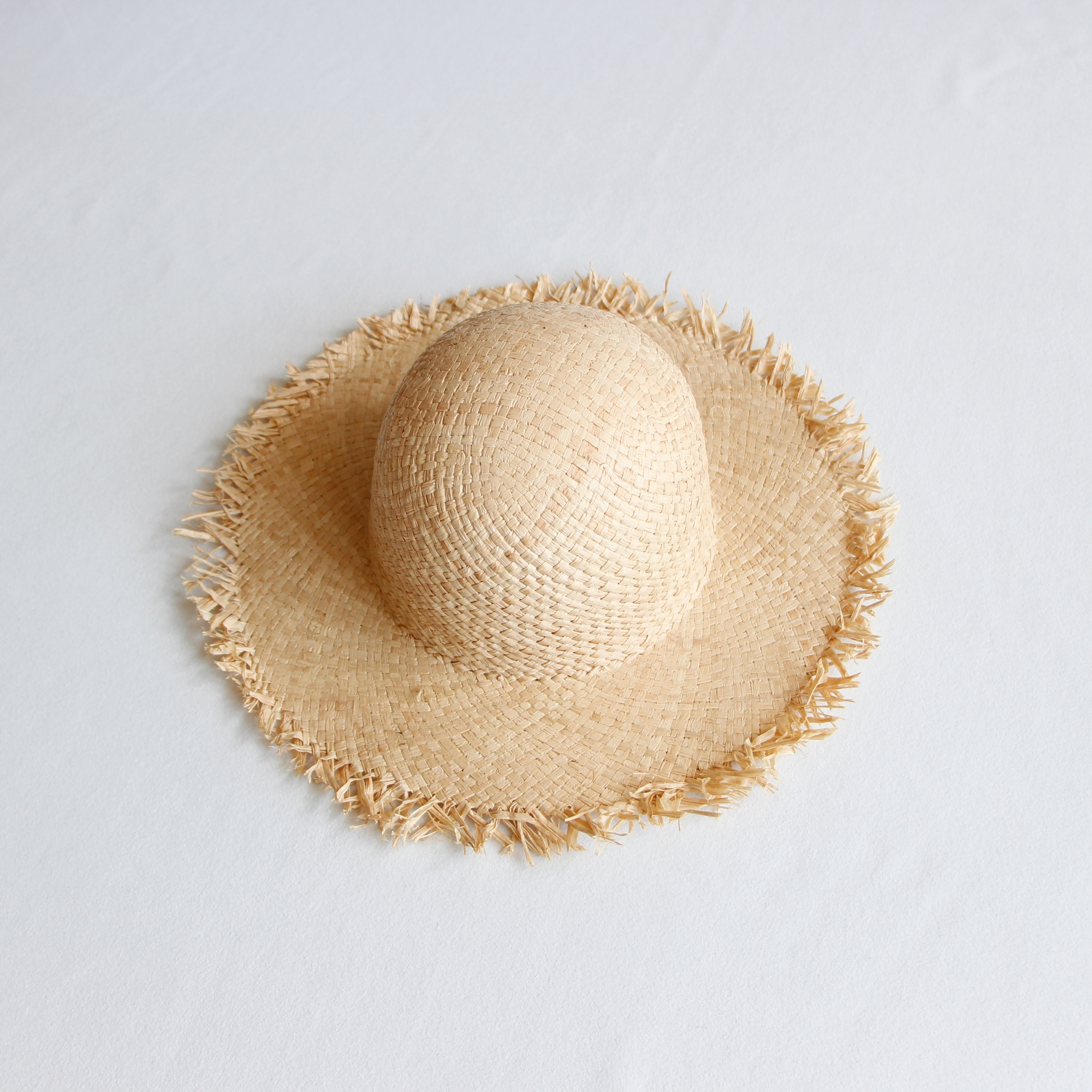 《Willys》Hewn hat / natural