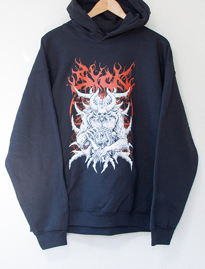 【STAY SICK CLOTHING】Most Evil Hoodie (Black)