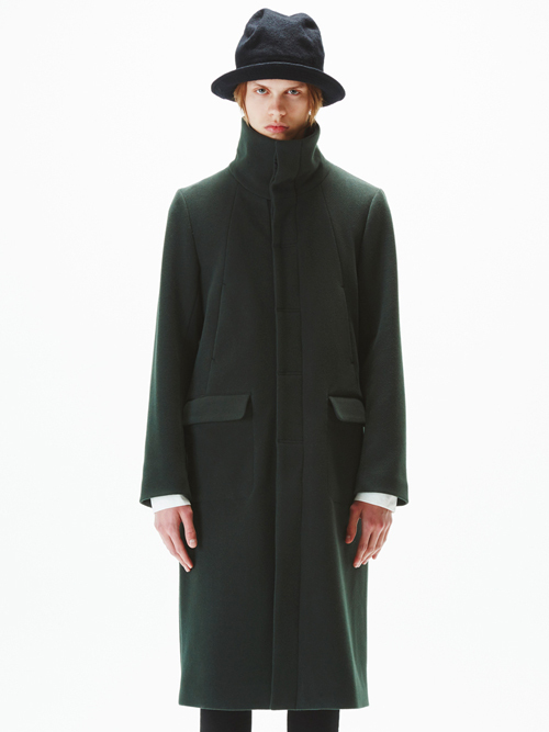 【WIZZARD】STANDCOLLAR COAT