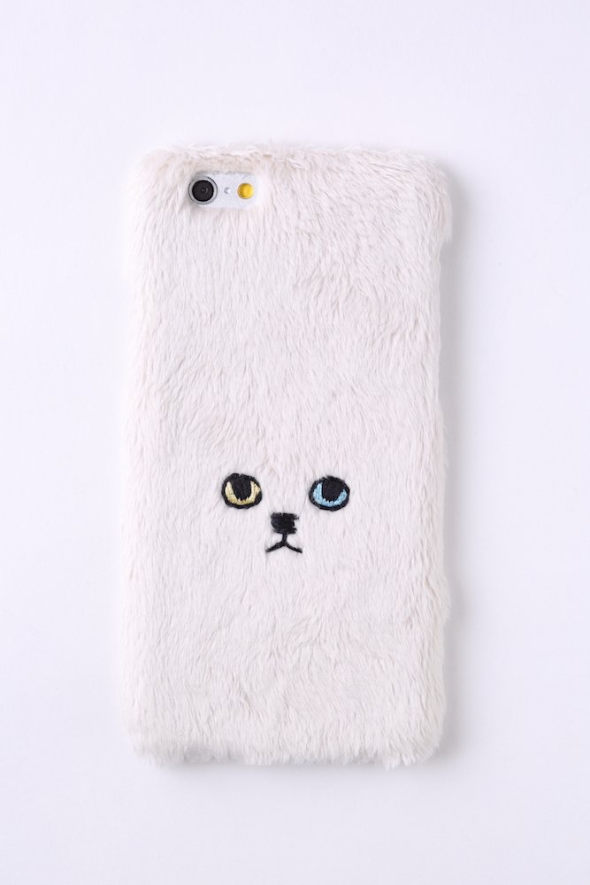 【iPhone6/6S専用】ネコiPhone6/6sハードケース【ベージュ】