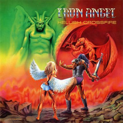 "IRON ANGEL ""Hellish Crossfire"" (輸入盤)"