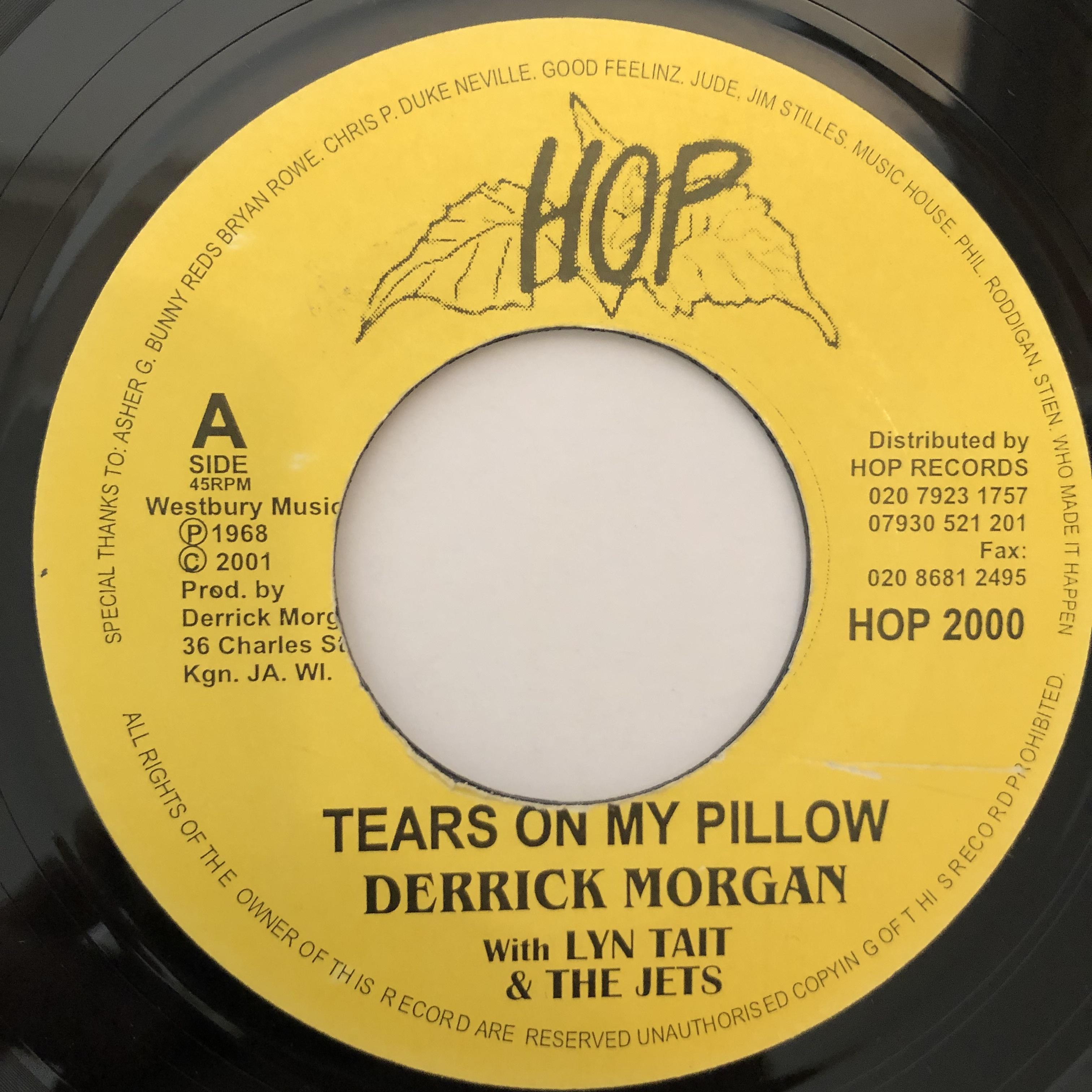 Derrick Morgan(デリックモーガン) - Tears On My Pillow【7-20247】