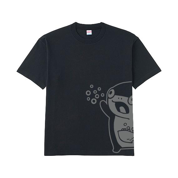 <残りわずか>コイス Tシャツ(黒)