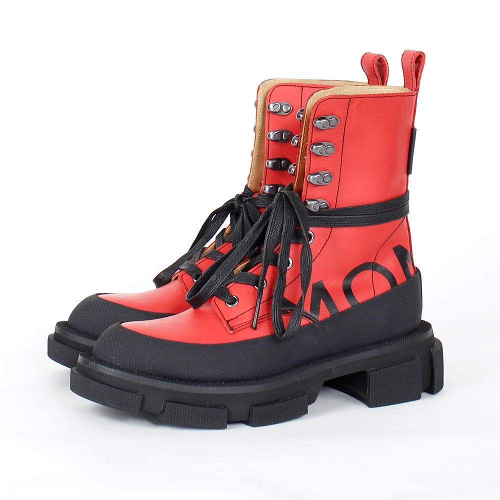 BOTH X MONSE Gao high boots Red