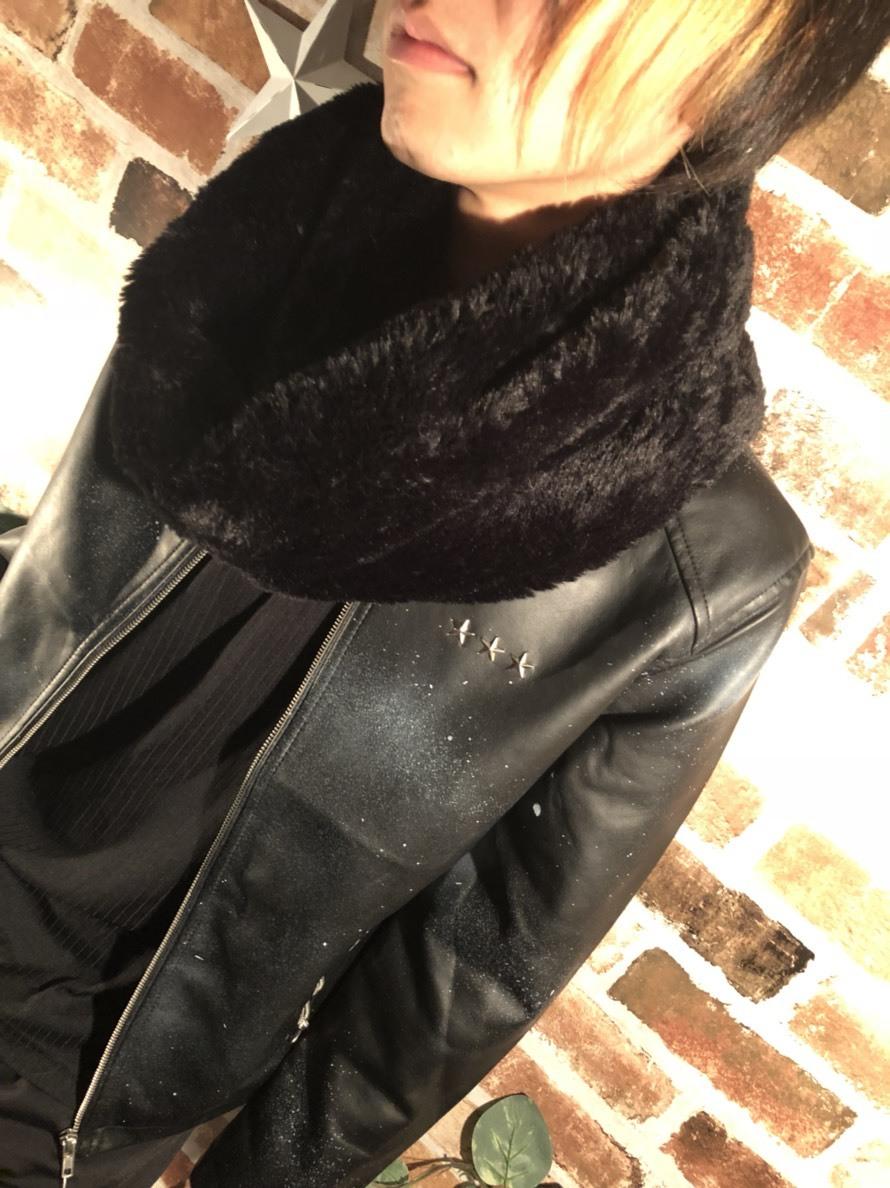 ユニセックス スヌード BLACK 男女兼用 マフラー ティペット レディース 冬物 プレゼント ギフト マフラーメンズ マフラーレディース