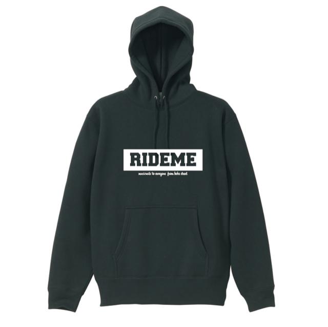 RideMe(ライドミー) | BOX LOGO Hoodie(Black)