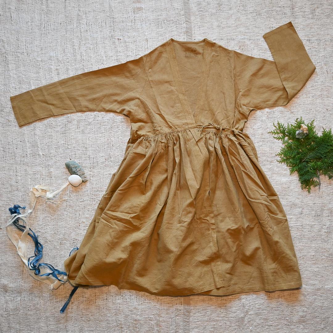 【先行販売価格】 ∞Coche Chour Dress∞ ヘンプコットン