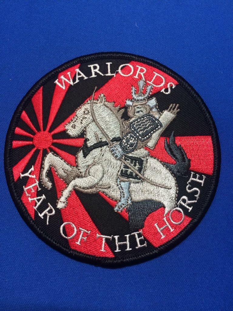 中古品パッチ/WARLORDS YEAR OF THE HORSE