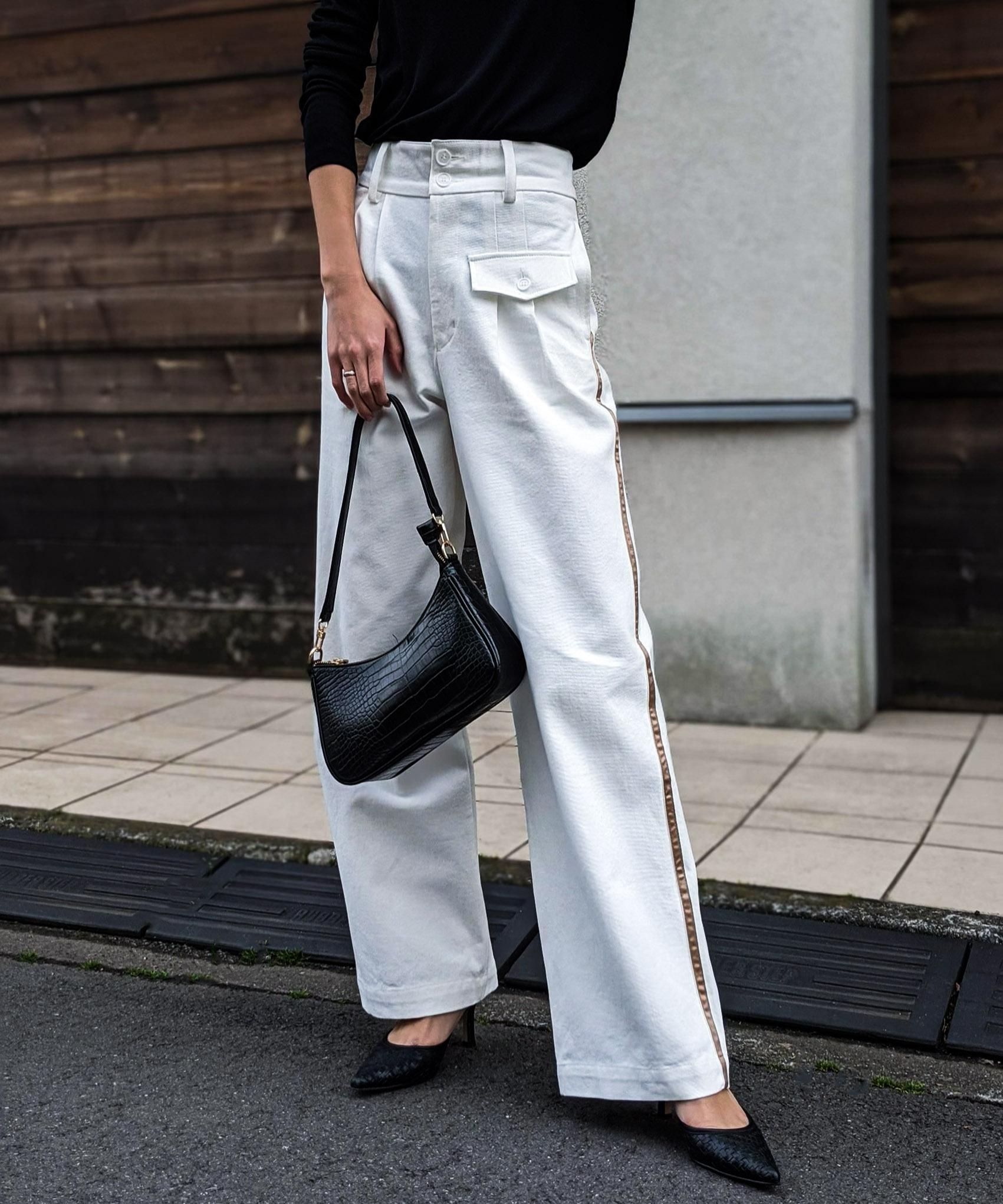 Side line slacks pants
