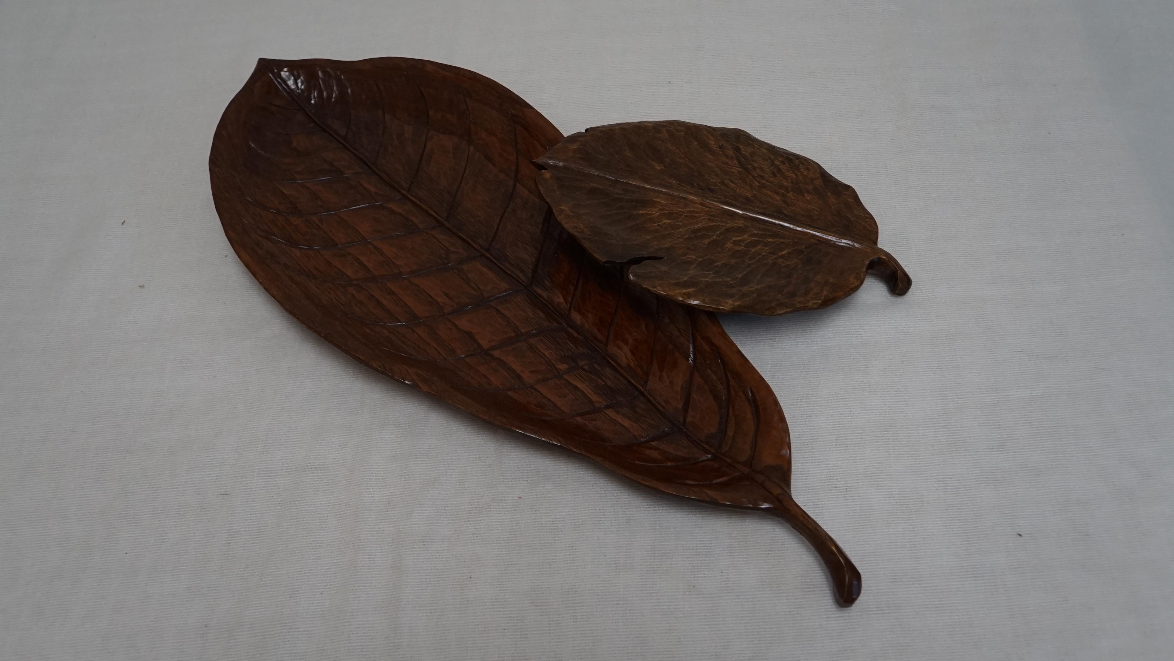 柿の葉の器