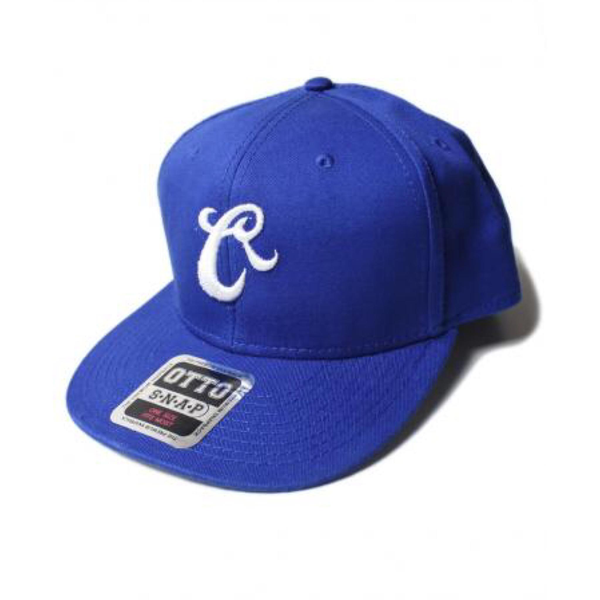 RUTHLESS #B Cotton Cap Blue