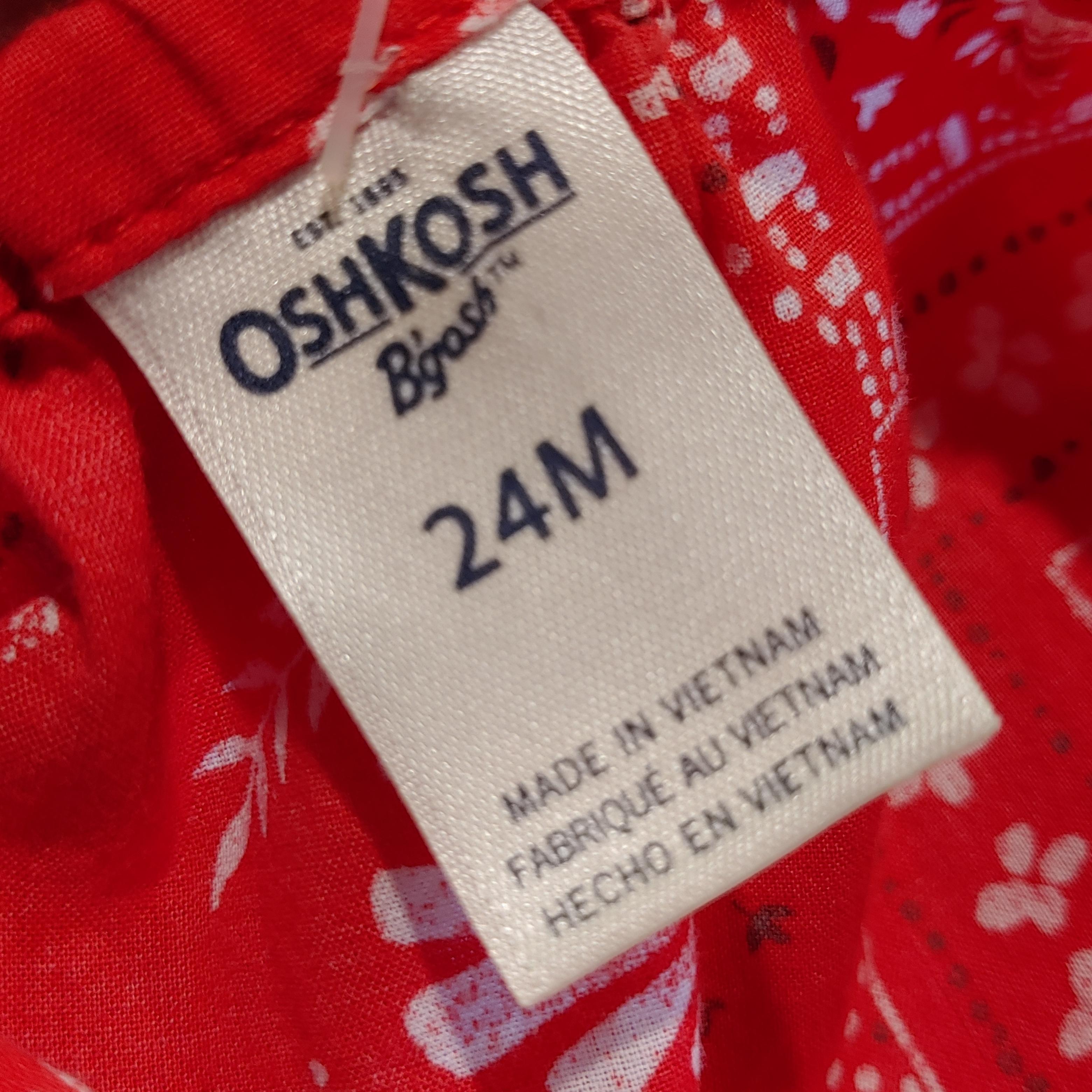 【KIDS USED】Oshkosh One-piece*24M