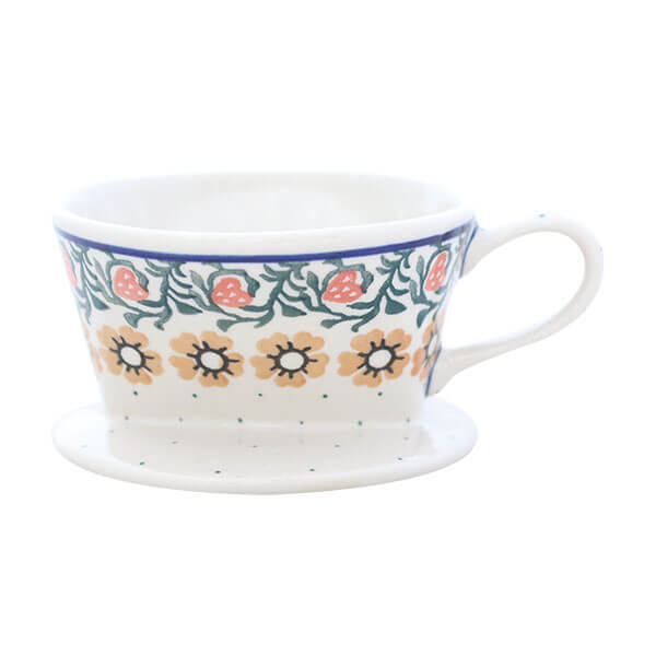 コーヒードリッパー / Ceramika Artystyczna ポーランド陶器