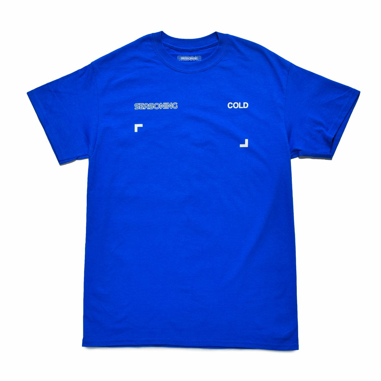 SEASONING COLOR S/S TEE  - BLUE