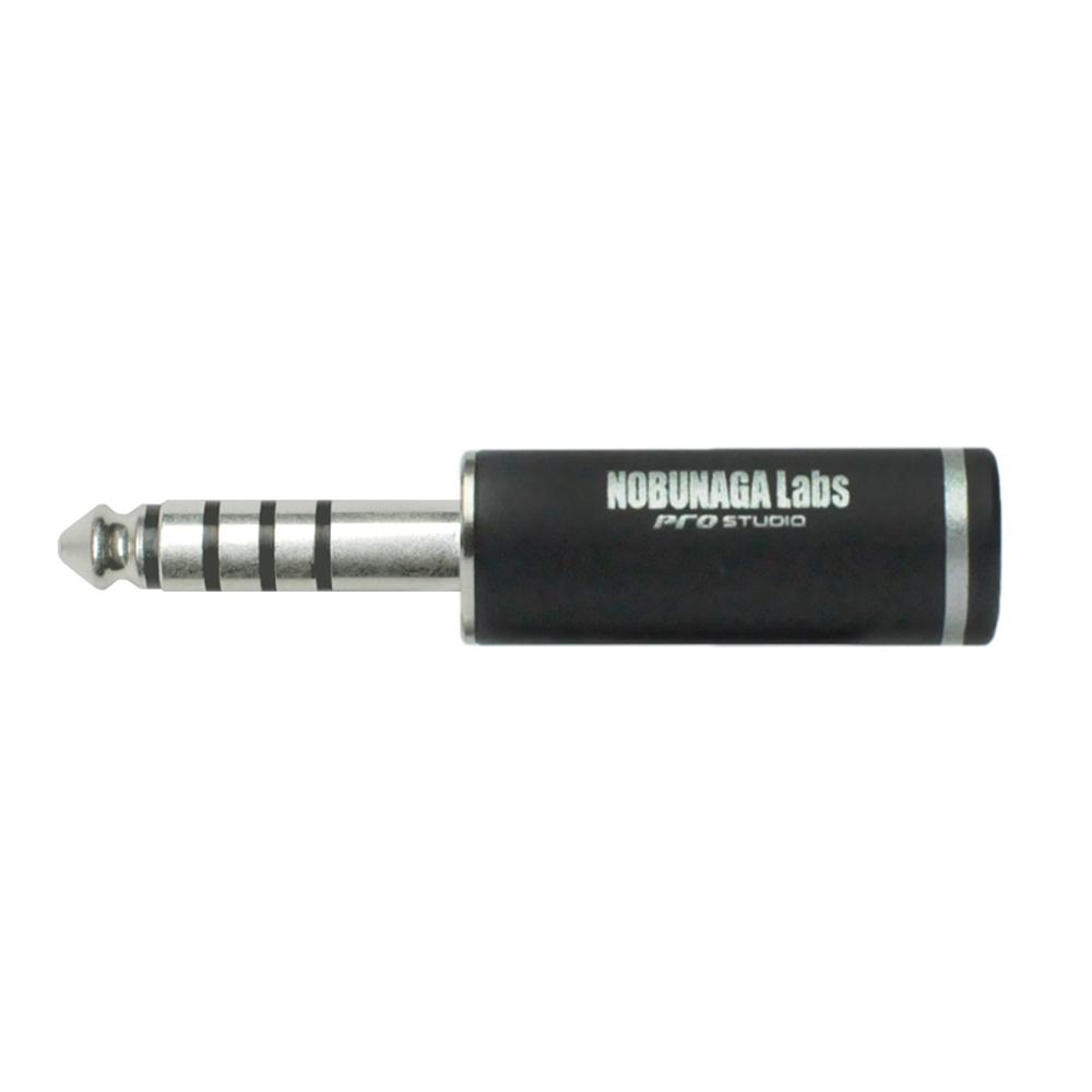 4.4mm5極プラグ シルバーメッキ  NLP-PRO-TP4.4/5-S:: NOBUNAGA Labs pro studio