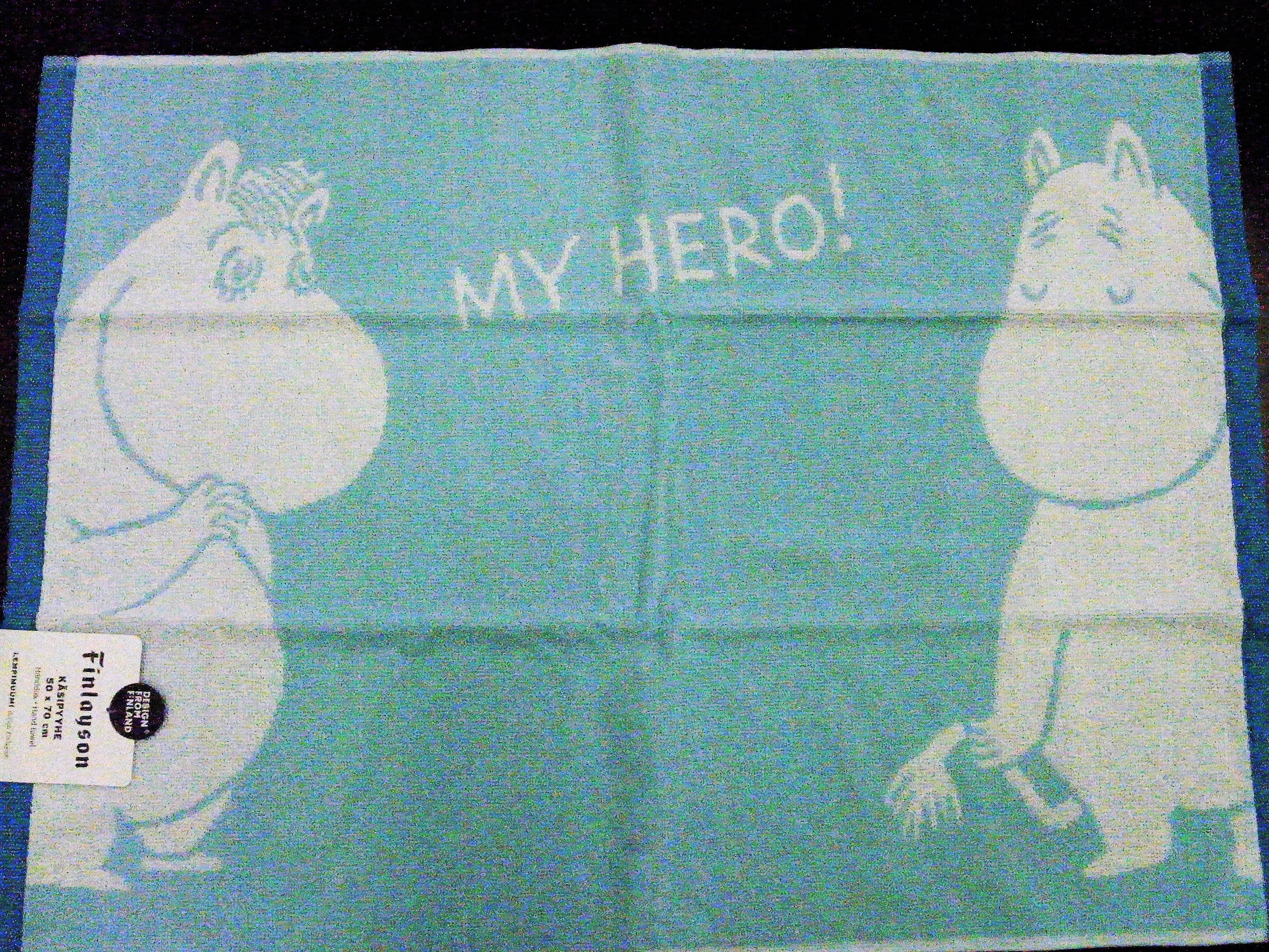 バスマット / フィンレイソン / ムーミン (MY HERO!)