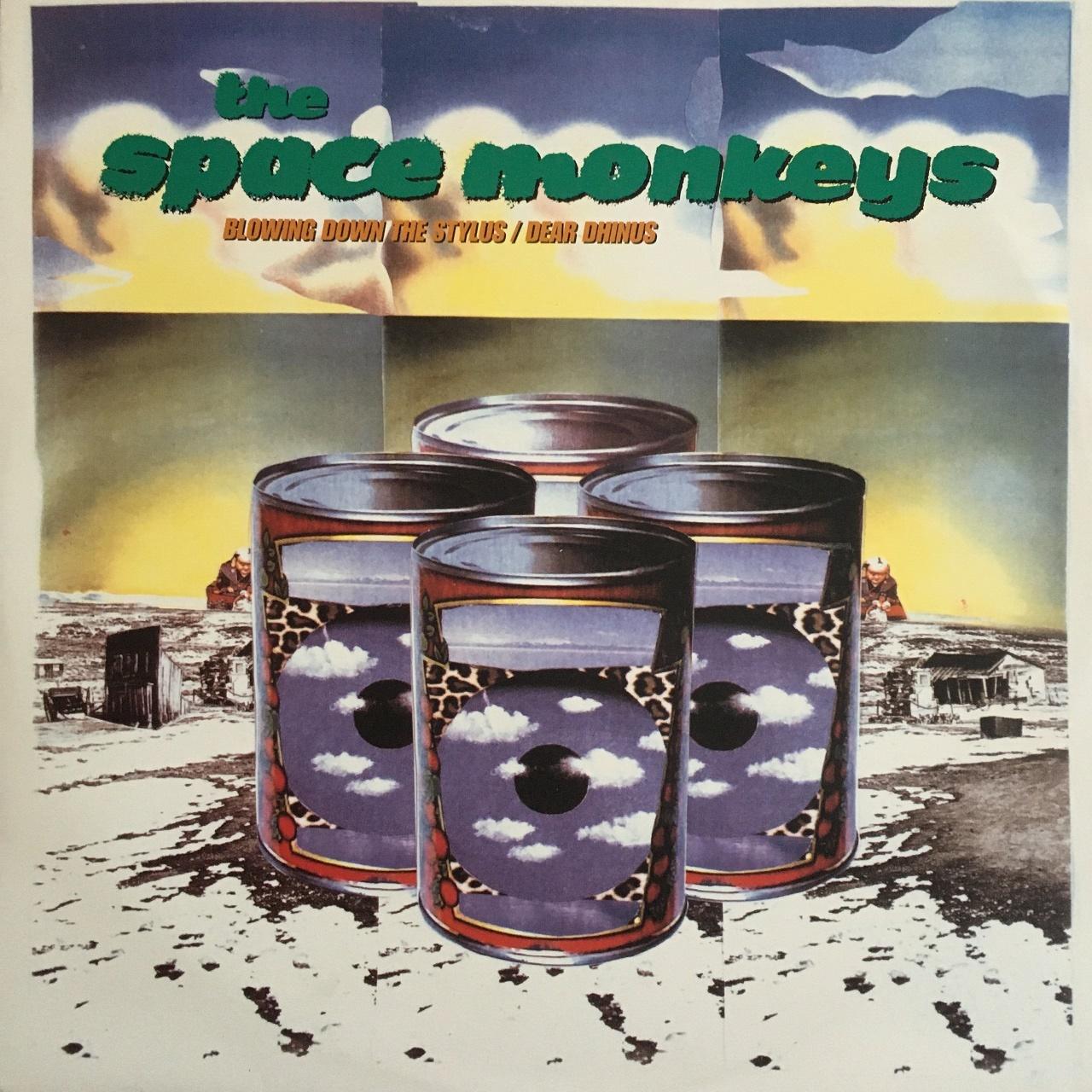 【12inch・欧州盤】The Space Monkeys  /  Blowing Down The Stylus , Dear Dhinus
