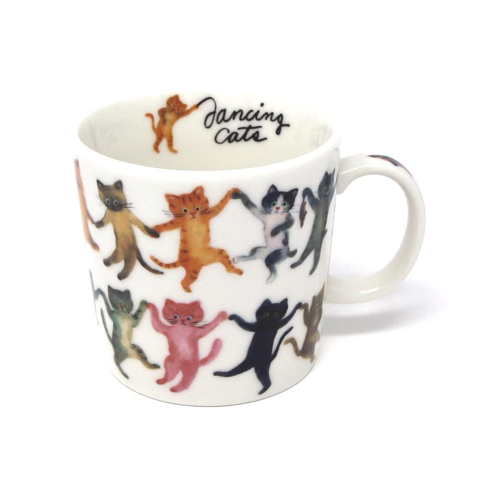 猫マグカップ(エクートミネットマグダンス)