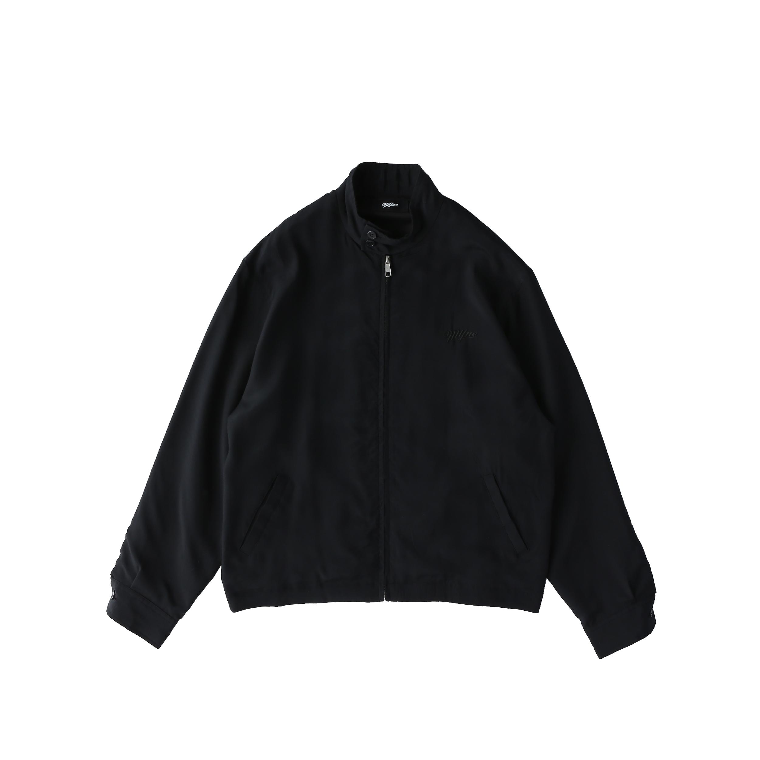 SNATCHER drizzler jacket / BLACK - 画像1
