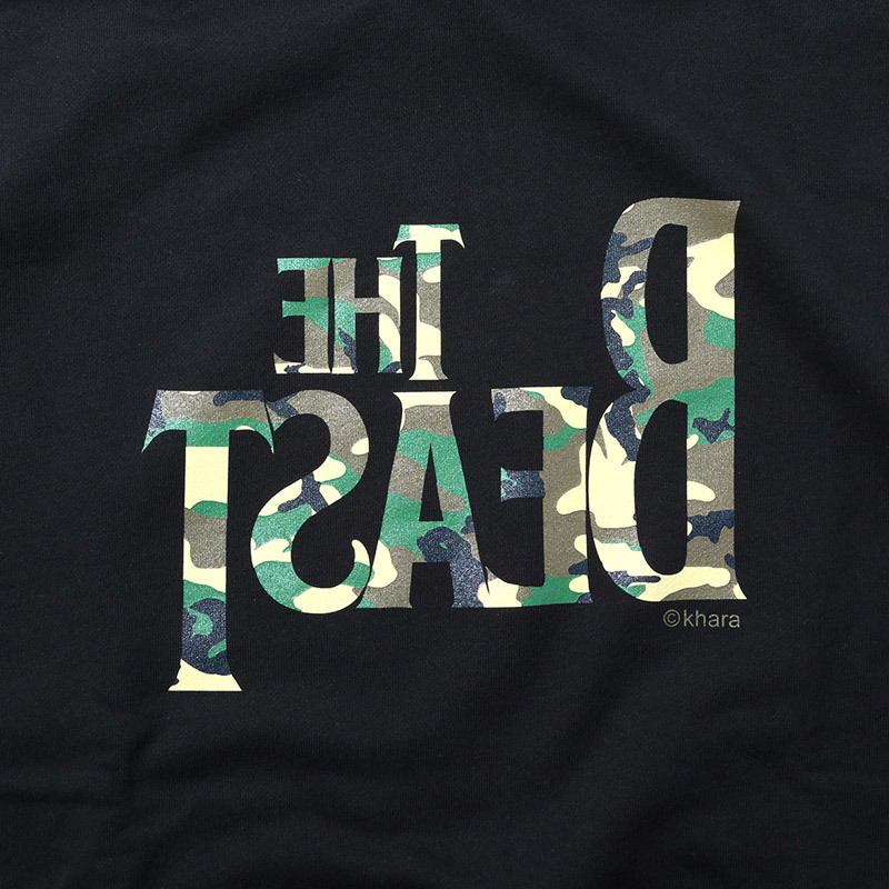 THE BEAST Parka β (ブラック×カモフラージュ) / RADIO EVA