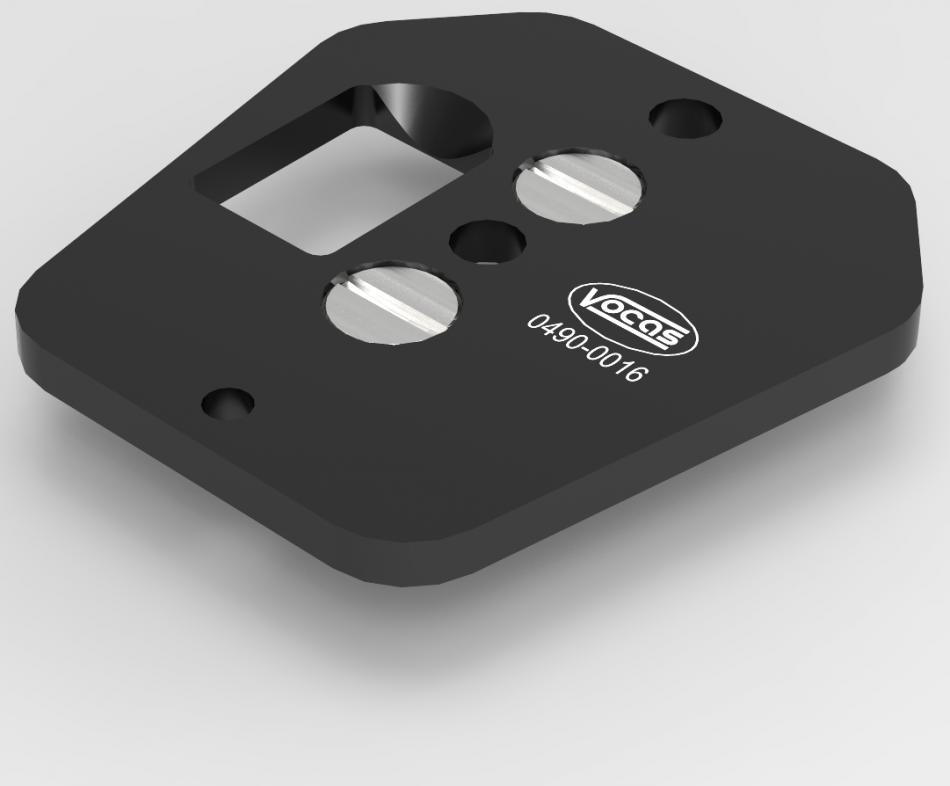 0490-0016 : Blackmagic Studio Camera用アダプタープレート
