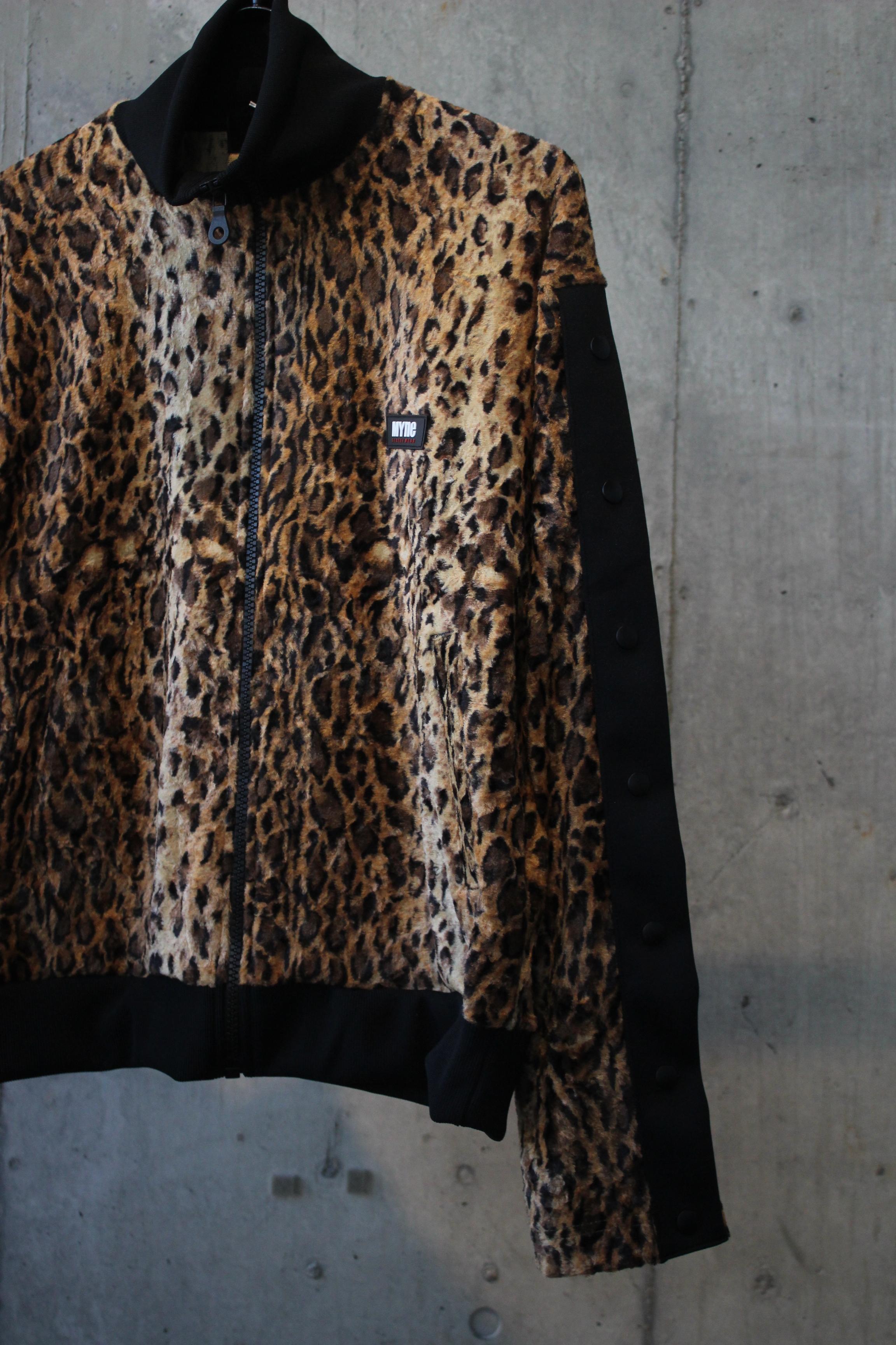 Leopard track jacket / BROWN - 画像2