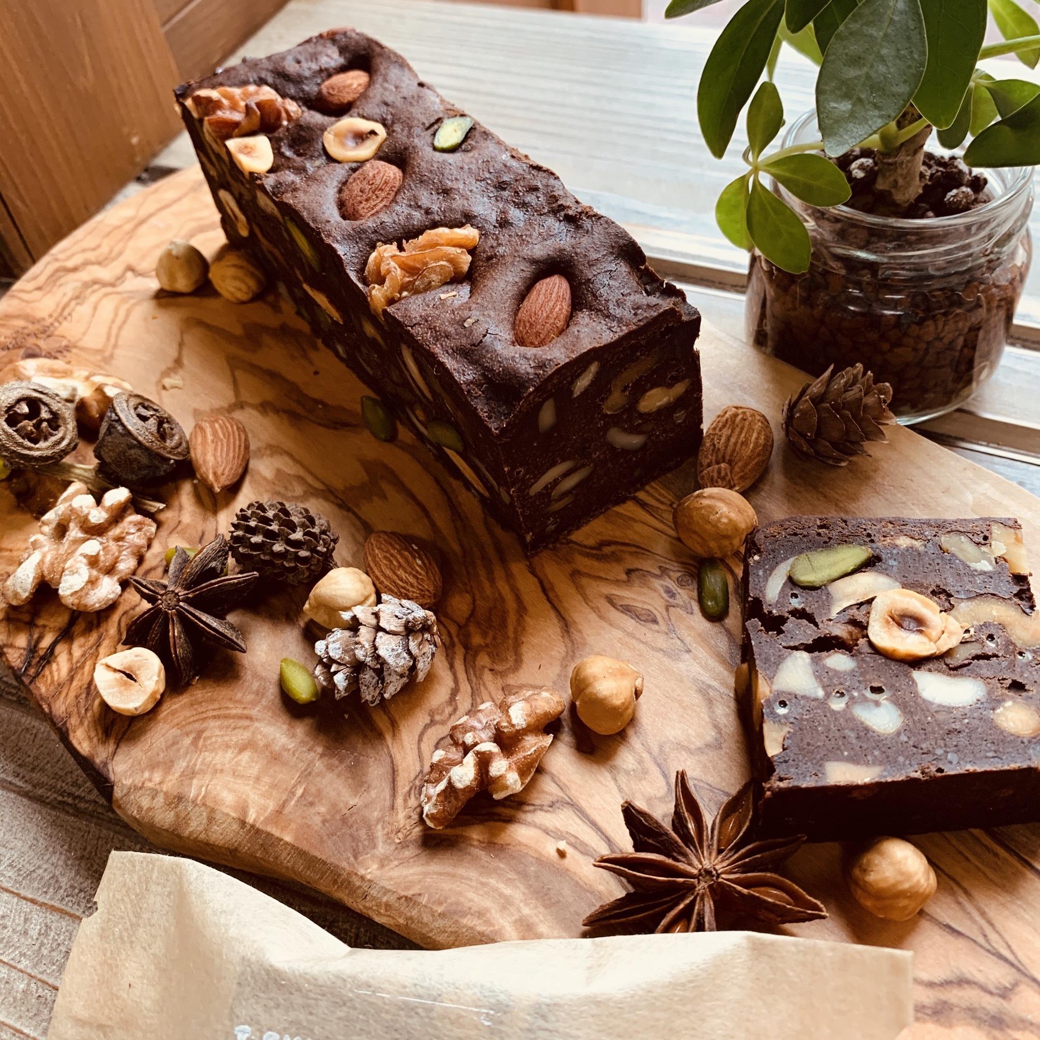 店頭渡し専用 糀甘酒とナッツたっぷりベイクドチョコレート