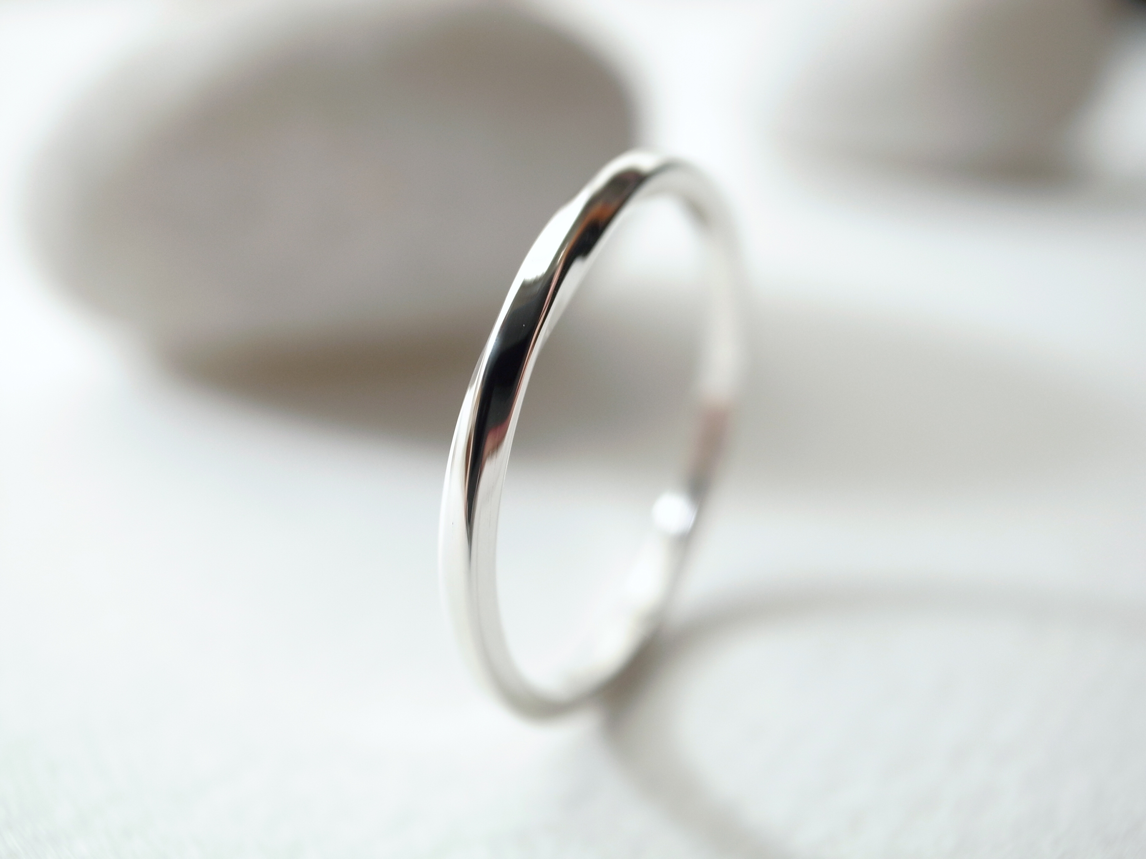 silver950/twist ring